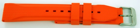 22mm Rubber - Orange