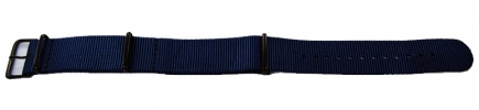 24mm Pathfinder Textile Strap - Blue